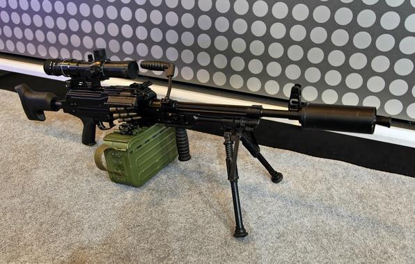 Картинка печенег, Pecheneg, модернизированный пулемет, Печенег-СП