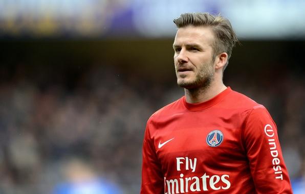 Картинка Спорт, Звезда, Футбол, David Beckham, Дэвид Бекхэм, Football, Футболист, Игрок, PSG, ПСЖ, Paris Saint-Germain, Пари …