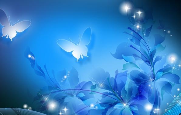 обои на рабочий стол бабочка на цветке