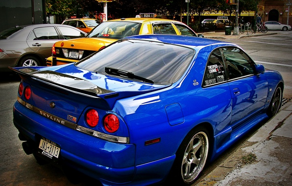 Картинка GTR, Nissan, Skyline, JDM, R33