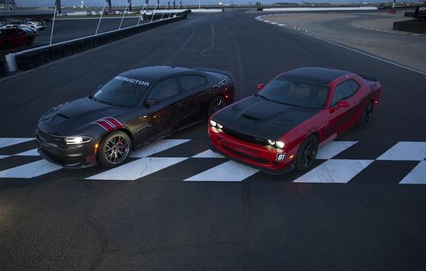 Картинка Dodge, Challenger, додж, Charger, чарджер, челленджер, SRT