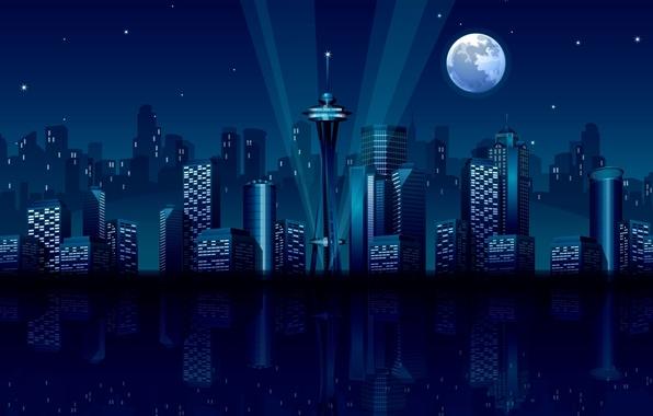 Ночные пейзажи обои на рабочий стол