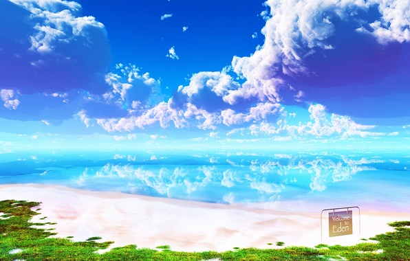 картинки рай небо
