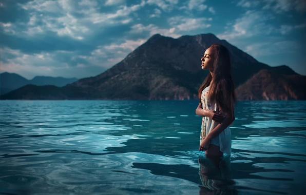 Картинка море, Турция, в воде, Mary Senn