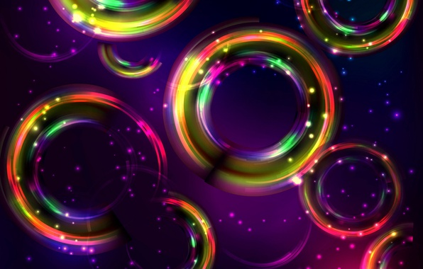 Картинка круги, абстракция, фон, colors, colorful, abstract, background