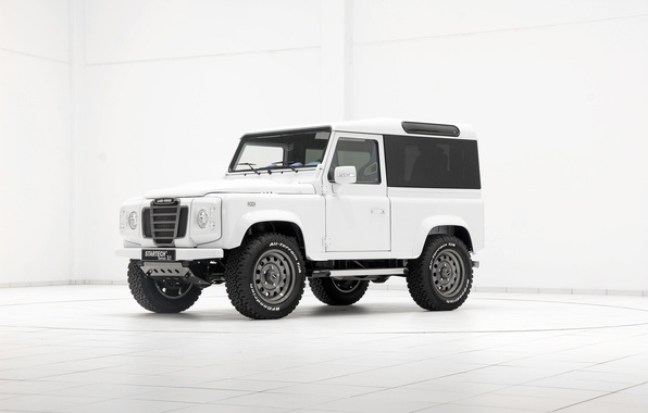 Картинка Land Rover, Defender, дефендер, 2014, Startech, ланд ровер