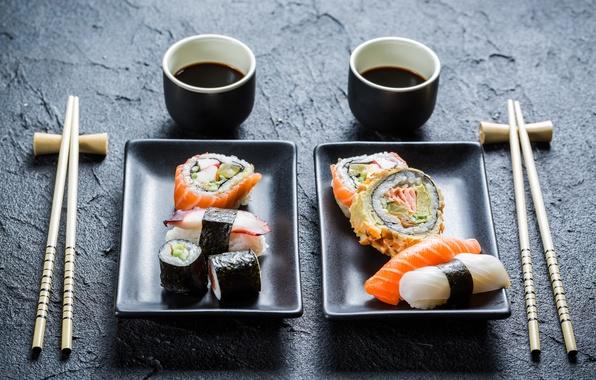 Картинка палочки, вкуснятина, design, rolls, sushi, суши, роллы, японская кухня, соевый соус, оформление, sticks, soy sauce, …