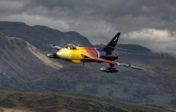 Картинка оружие, самолёт, Hawker Hunter