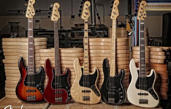 Картинка bass, guitar, fender, jazz, precision