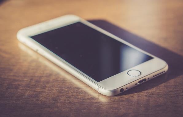 Картинка белый, телефон, iphone, экран, айфон