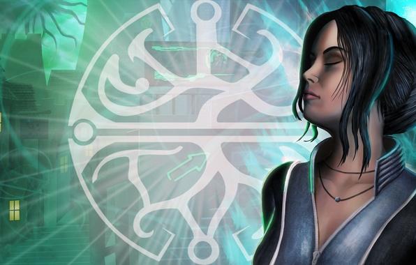 Картинка девушка, лицо, art, dreamfall, Dreamfall Chapters: The Longest Journey, zoe castillo, Dreamfall: The Longest Journey