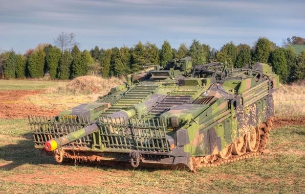 Картинка танк, боевой, основной, 1960-х годов, шведский, Strv 103, «С-танк»