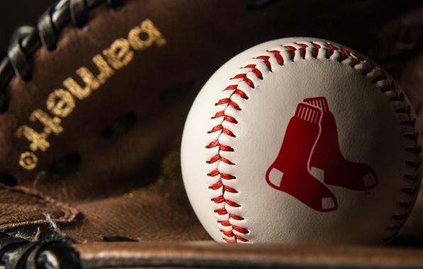 Картинка спорт, мяч, Baseball, Red Socks
