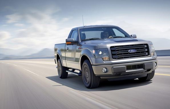 Картинка машина, Ford, пикап, передок, F-150, мощный, Tremor