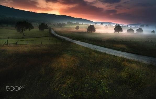 Картинки утро и вечер в природе