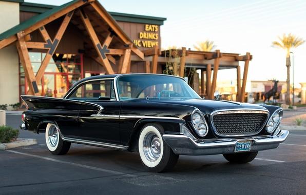 Картинка Chrysler, классика, передок, 1961