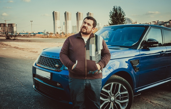 Картинка мужчина, Range Rover, смотра, Давидыч, Smotra, Эрик Давидыч