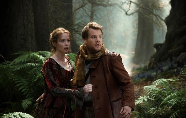 Картинка Emily Blunt, Чем дальше в лес, мюзикл, Into the Woods, James Corden