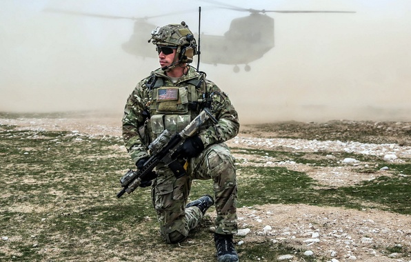 Картинка Afghanistan, CH-47 Chinook, United States Spec Ops