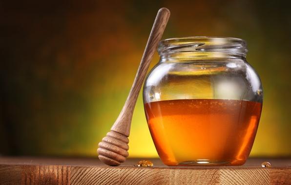 Картинка капельки, стол, honey, мёд, баночка, honey dipper