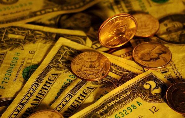 Картинка золото, деньги, монеты