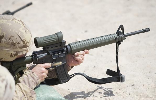 Картинка оружие, солдат, тренировка, Canadian Army