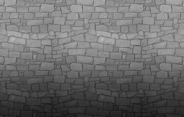 Картинка серый, стена, камень, текстура, wall
