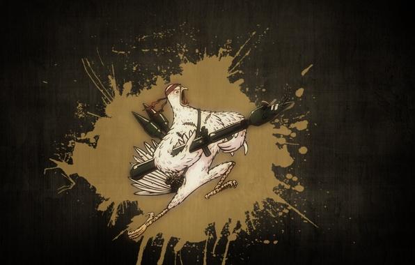 Картинка стена, краска, всплеск, терминатор, воин, солдат, повязка, базука, стенка, петух, морпех, стеночка, Рембо, крут, сарказм