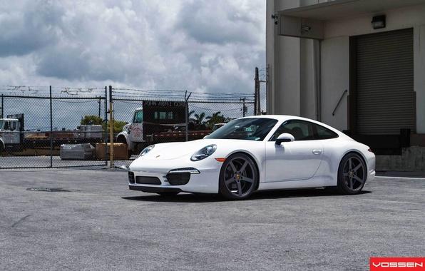 Фото обои 911, Porsche, Порше, Vossen, VVSCV3
