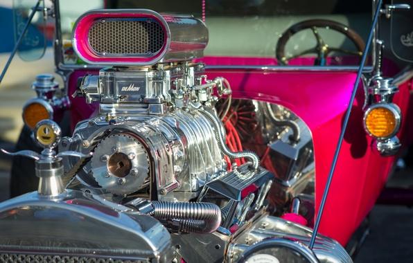 Картинка двигатель, Ford, hot-rod, 1923