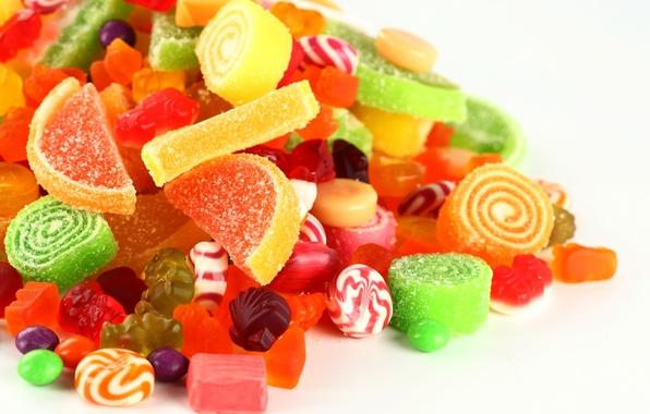 Картинка конфеты, леденцы, сахар, сладкое, мармелад, желатин