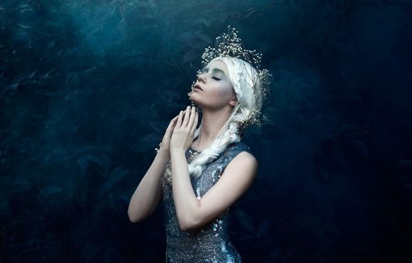 Картинка девушка, макияж, Bella Kotak, Starlight