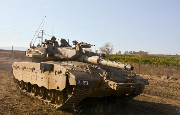Картинка танк, боевой, основной, Merkava, Израиля, Mk III