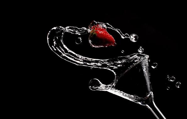 Девушки клубника фото