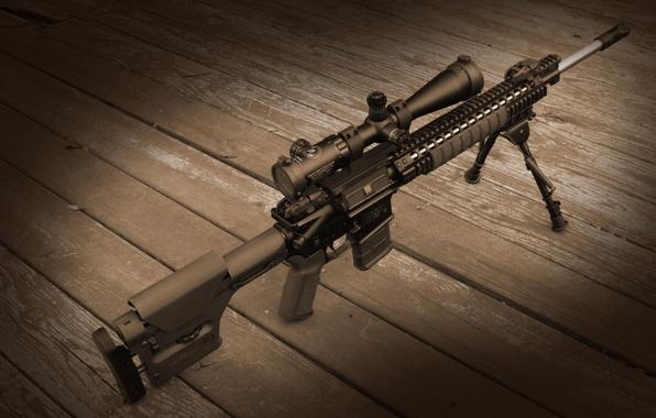 Картинка оружие, оптика, винтовка, снайперская, SPR, MK12