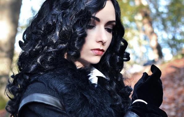 Картинка девушка, косплей, The Witcher 3, Yennefer