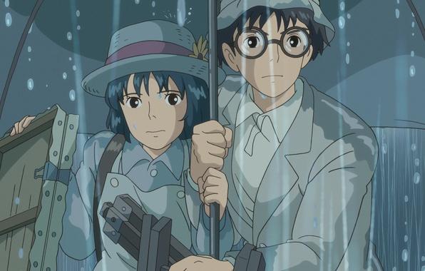 Картинка Хаяо Миядзаки, Hayao Miyazaki, Ghibli, Наоко Сатоми, Ветер крепчает, The Wind Rises, Naoko Satomi, Дзиро …