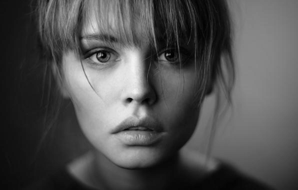 красивые фотографии черно белые девушек