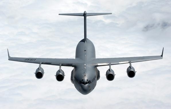Фото обои самолет, usa, air force