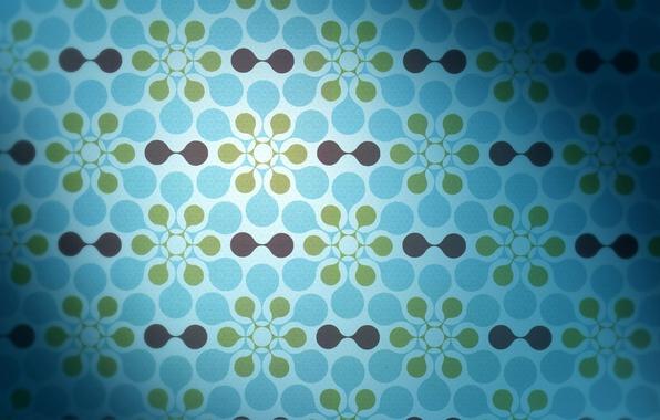Картинка фон, голубой, узоры, текстура