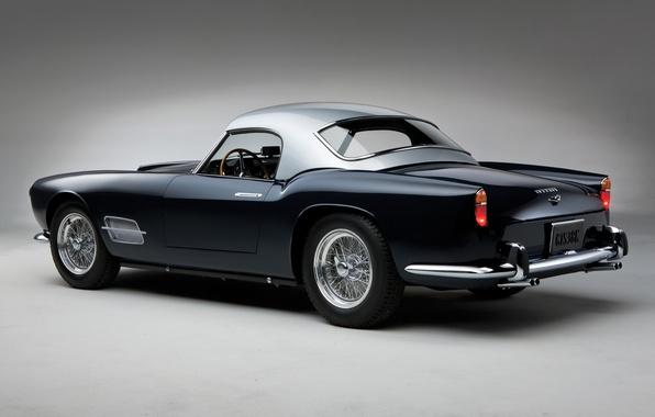 Картинка ретро, красота, суперкар, спорткар, кабриолет, Spyder, Ferrari 250 GT, спортивный автомобиль, LWB California