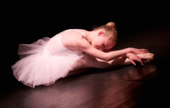 Картинка девочка, балерина, пуанты