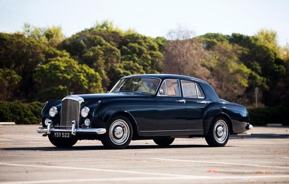 Картинка car, авто, Bentley, Continental, beautiful, 1957, nice, шикарное, Saloon by Mulliner