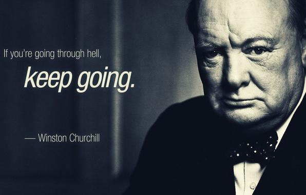 Картинка Цитата, Winston Leonard Spencer-Churchill, Уинстон Черчиль