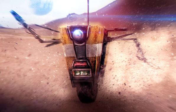 Картинка Robot, Borderlands, Claptrap, CL4P-TP