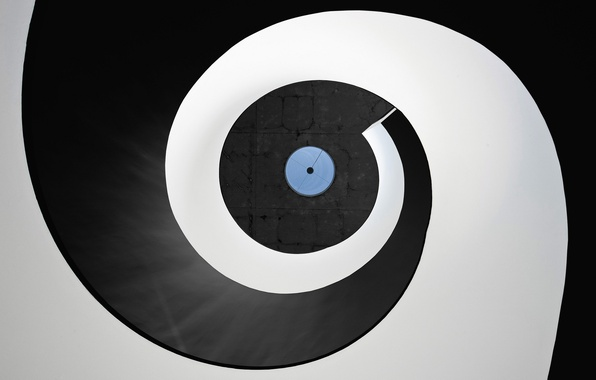 Фото обои disc, circle, round