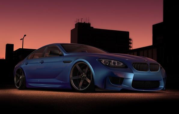 Картинка car, тюнинг, бмв, автообои, virtual tuning, BMW M6 Gran Coupe
