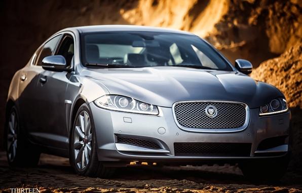 Картинка машина, авто, Jaguar, Ягуар, фотограф, оптика, перед, auto, photography, photographer, Thirteen