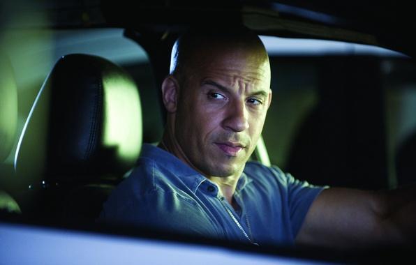 Картинка взгляд, лицо, мужик, лысый, мужчина, актёр, Вин Дизель, режиссёр, Vin Diesel, продюсер, сценарист, Марк Синклер …