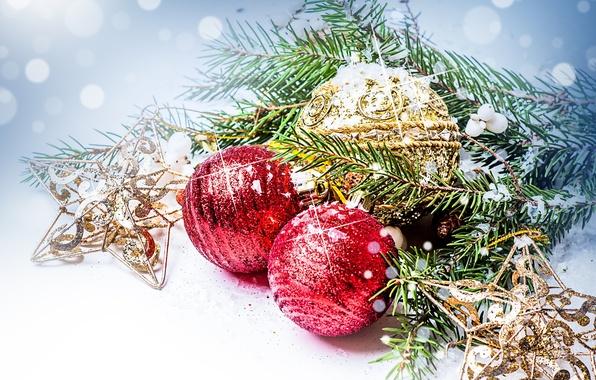 Картинки по запросу новый год шары живопись